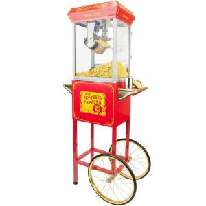 Click here to buy Funtime 4 oz. Popcorn Machine & Cart by Funtime.