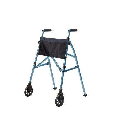 EZ Fold-N-Go Walker in Cobalt Blue
