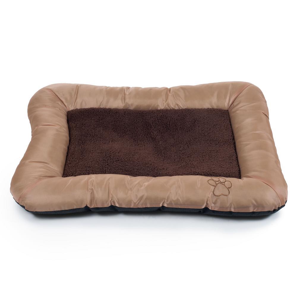 Small Tan Comfy Cozy Pet Bed