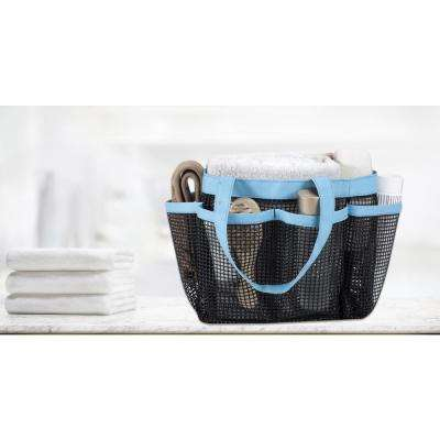 All Purpose Mesh Tote Bag in Teal