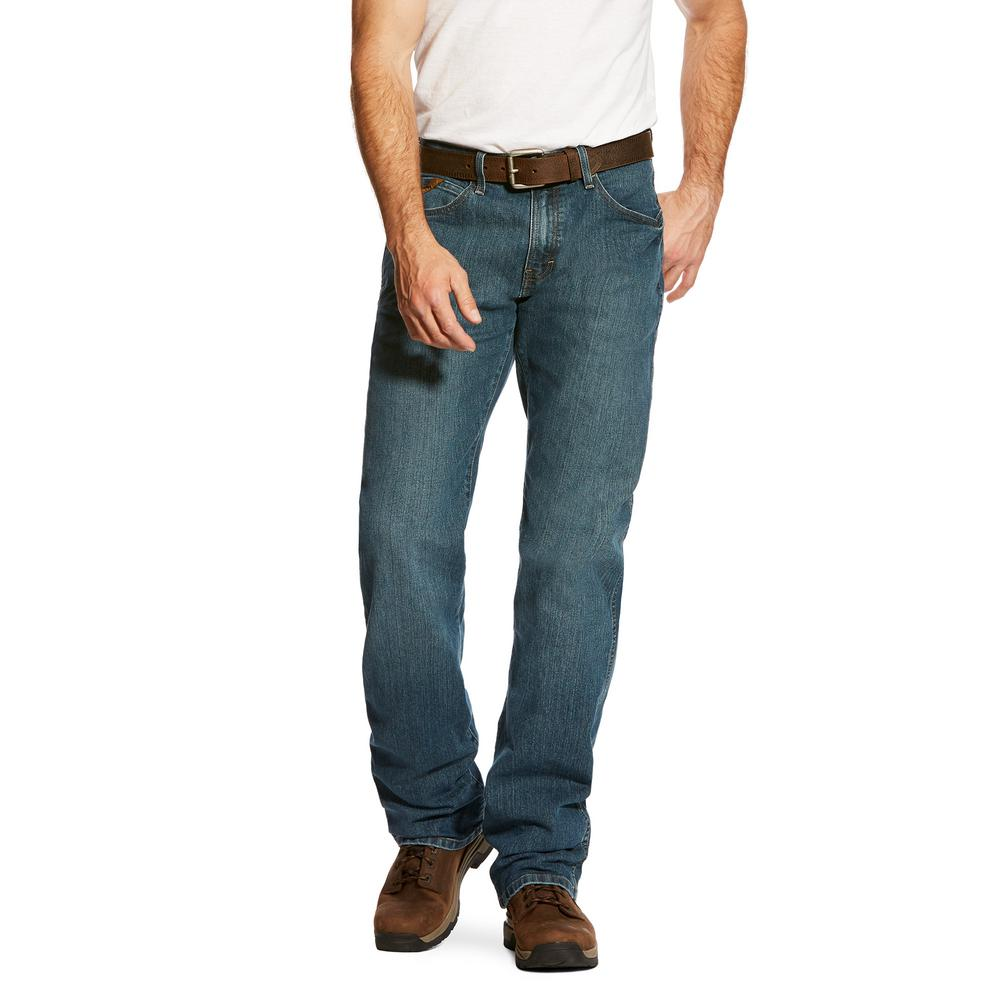 1895197c8073 Ariat Men s Size 34 in. x 38 in. Carbine M4 Low Rise Boot Cut Jeans ...