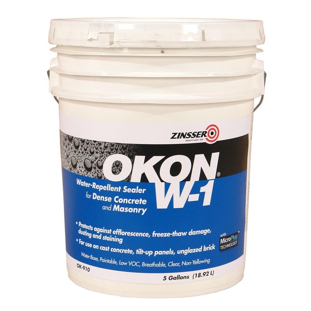 Rust-Oleum OKON 5 gal. W-1 Water Repellent Sealer-OK910 ...