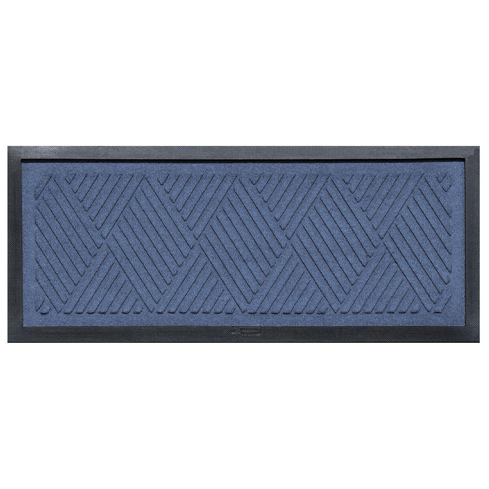 aqua shield navy 15 in x 36 in diamonds boot tray 20493611536 the home depot. Black Bedroom Furniture Sets. Home Design Ideas