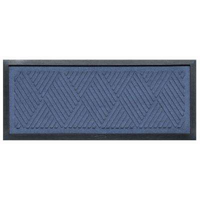 Navy 15 in. x 36 in. Diamonds Boot Tray