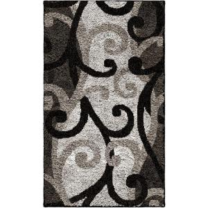 Orian Rugs Spirit Black 1 ft. 11 inch x 3 ft. 3 inch Accent Rug by Orian Rugs