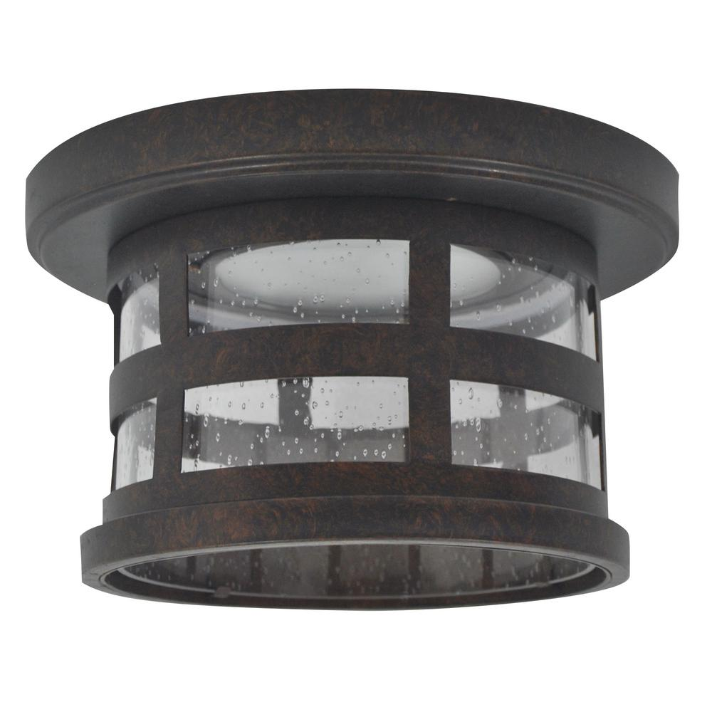 Design House Washburn Small 1-Light Rustic Bronze ...