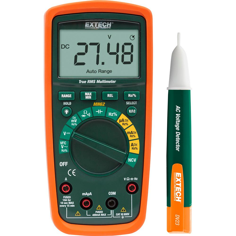 True RMS Multi-Meter with AC Voltage Detector Kit