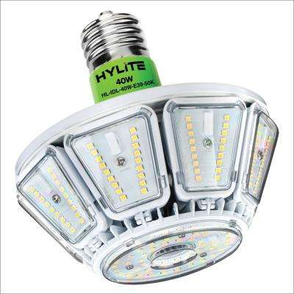 40W Intigo Down Light LED Lamp 175W HID Equivalent 5000K 5680 Lumens Ballast Bypass 120-277V UL & DLC Listed