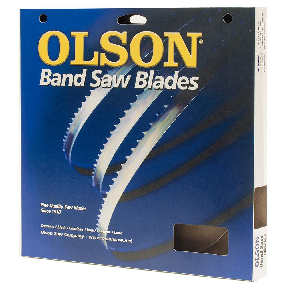 Olson  5 in Carbon Steel  Scroll Saw Blade  7 TPI 6 pk