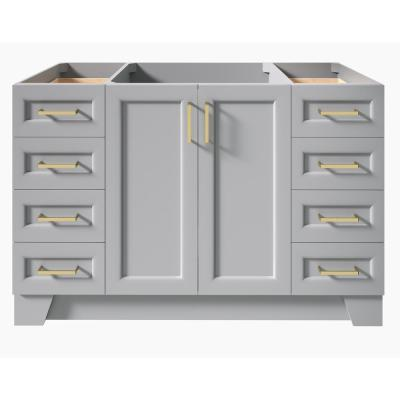 Taylor 54 in. W Vanity Cabinet Only in Grey