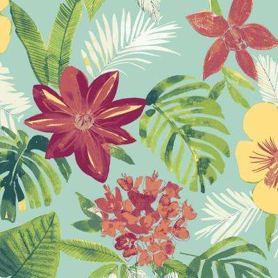 Elea Tropical Outdoor Fabric by The Yard