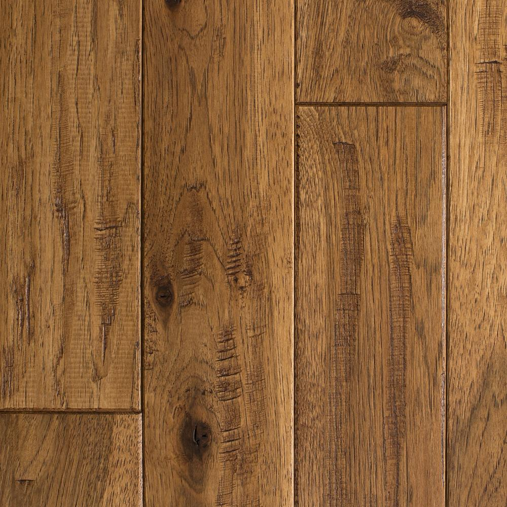 Blue ridge hardwood flooring hickory vintage barrel hand for Solid hardwood flooring