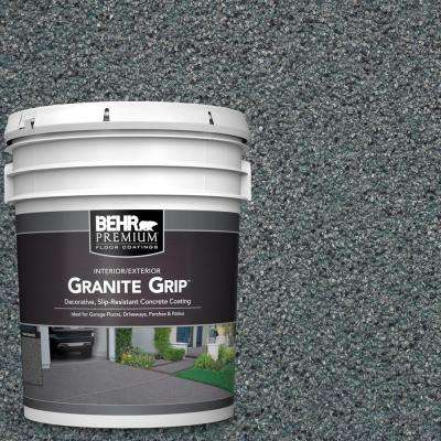 5 gal. #GG-02 Stone Valley Decorative Flat Interior/Exterior Concrete Floor Coating