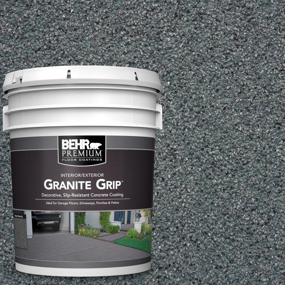 5 gal. #GG-02 Stone Valley Decorative Concrete Floor Coating