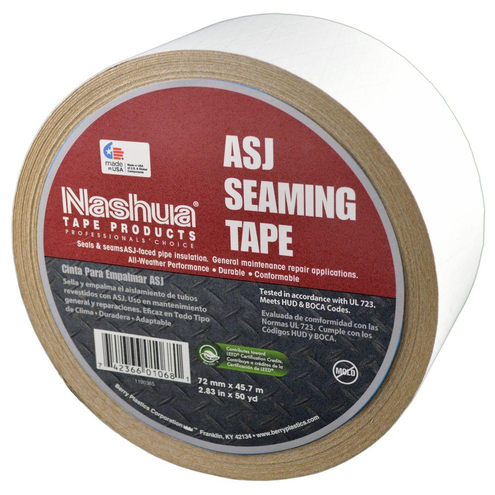 Nashua Tape 2.83 in. x 50 yds. All-Service Jacketing Insulation Tape