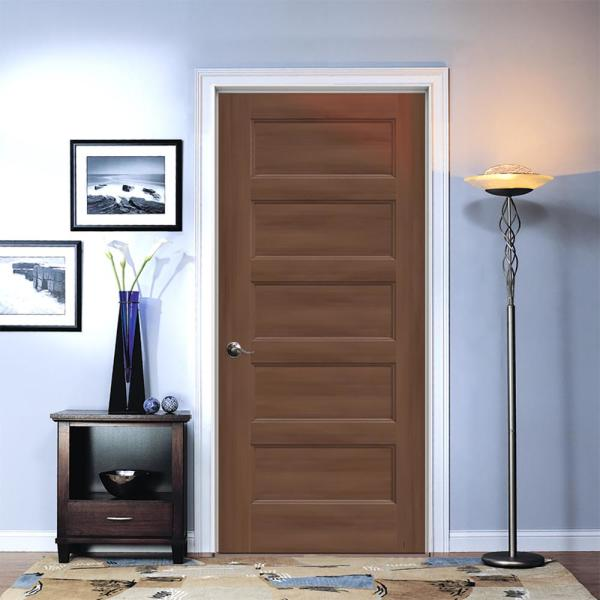 Jeld Wen 36 In X 80 In Conmore Milk Chocolate Stain Smooth Hollow Core Molded Composite Single Prehung Interior Door Thdjw236700200 The Home Depot