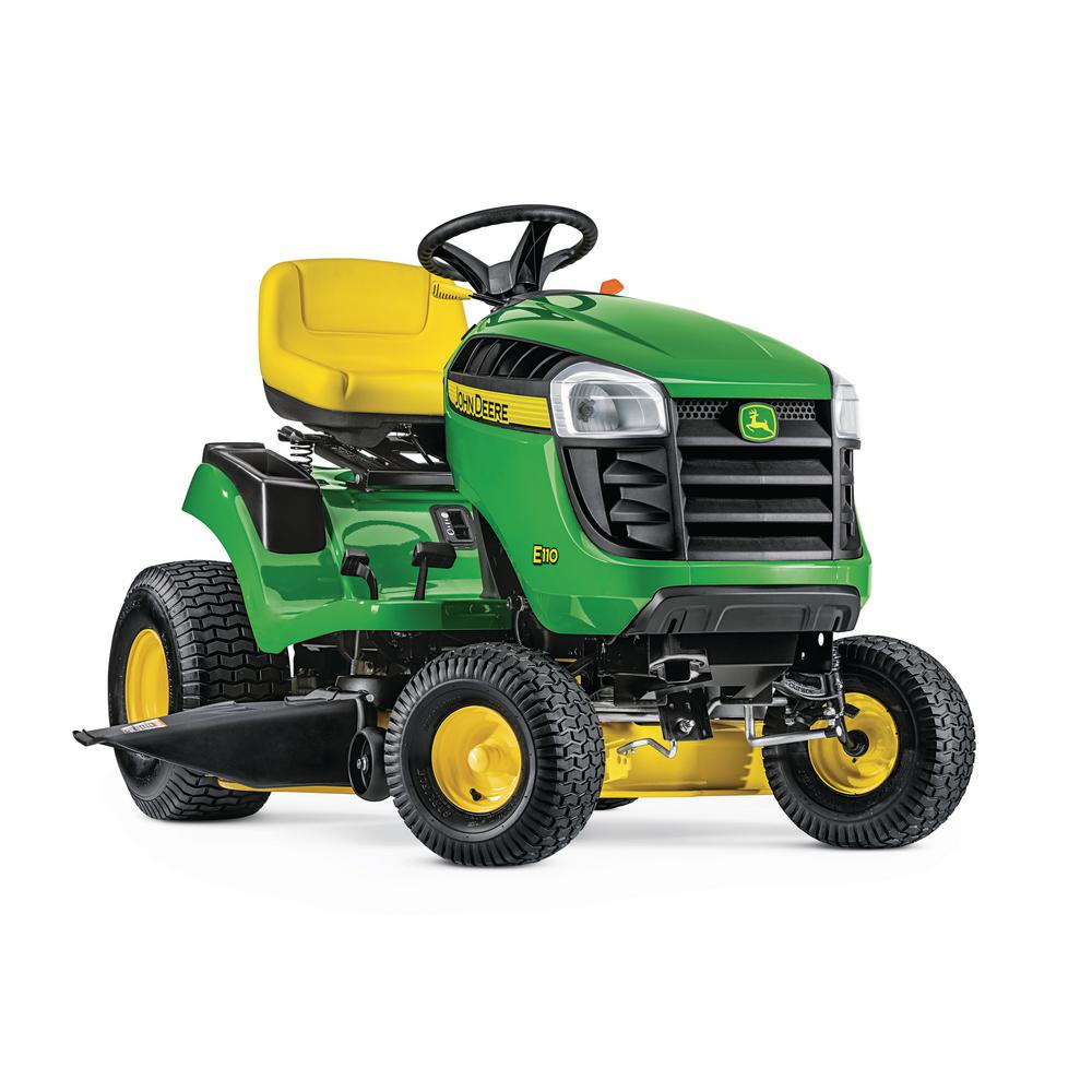 John Deere E110 42 in. 19 HP Gas Hydrostatic Lawn Tractor...