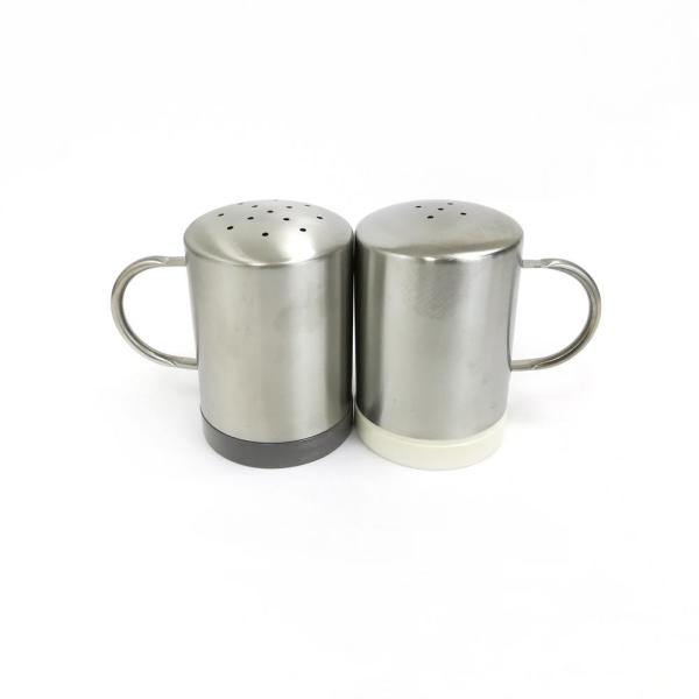 Berghoff Geminis Stainless Steel Salt And Pepper Mills 2 Pack