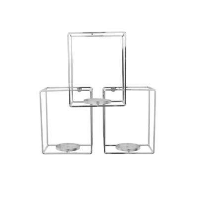 16 in. Metal Wall Candle Holder
