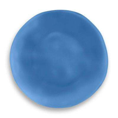 Sea Glass Polyproplyene Navy Dinner Plate (Set of 6)