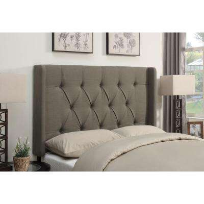 Taupe King Headboard
