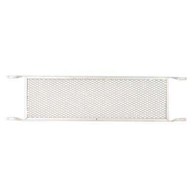 8 in. x 32 in. Mill Screen Door Push Grille
