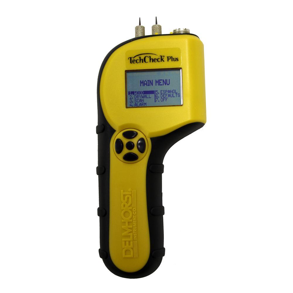 TechCheck-Plus 2-in-1 Moisture Meter
