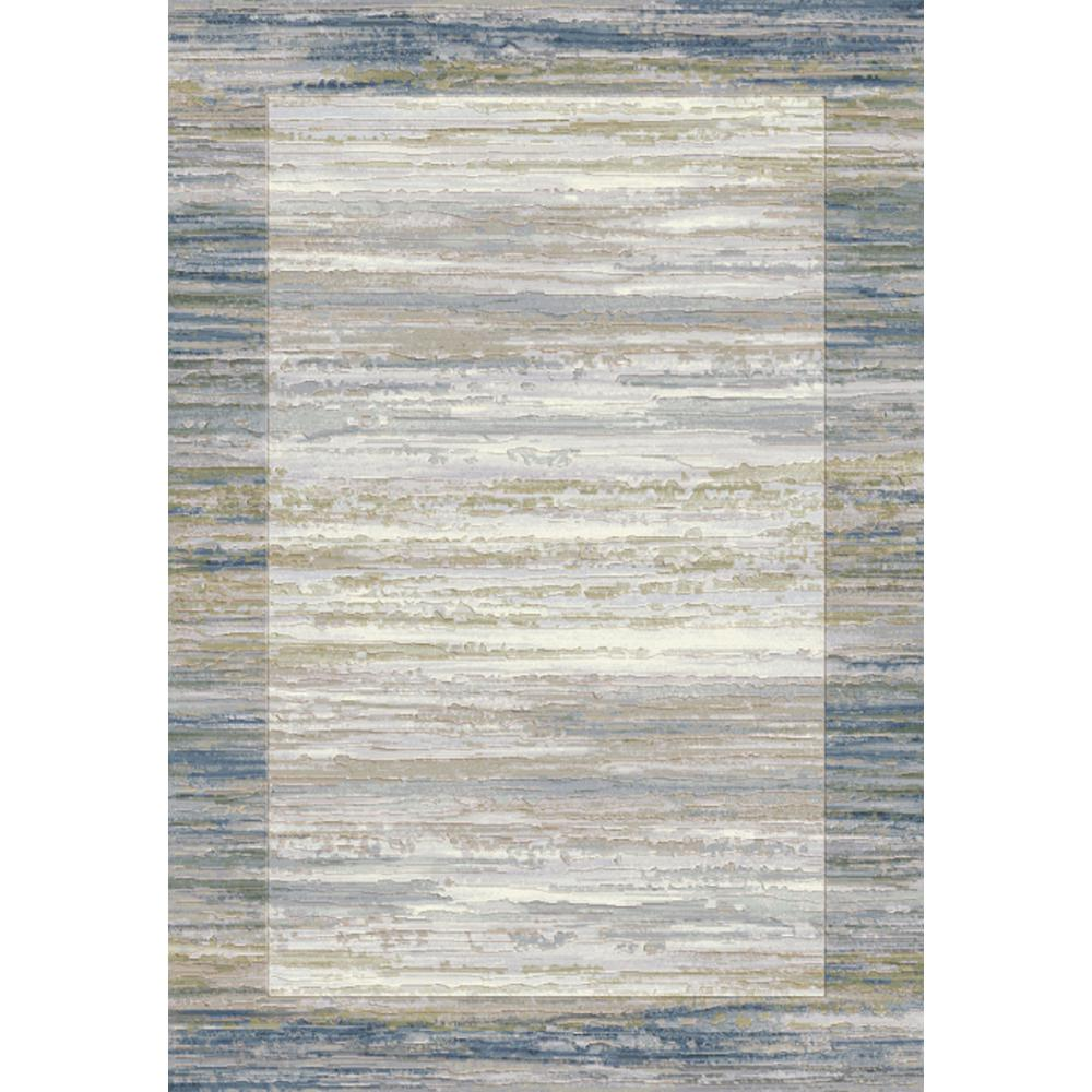 Eclipse Blue/Grey 3 ft. 11 in. x 5 ft. 7 in.