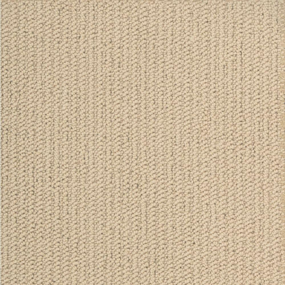 Natural harmony durango champagne custom area rug with pad for Custom area rugs home depot