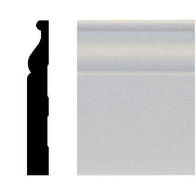 5/8 in. x 4-1/4 in. x 96 in. MDF Primed Base Moulding