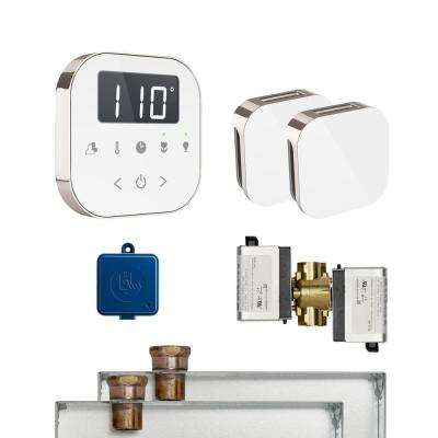 AirButler 2 Package in White Polished Nickel
