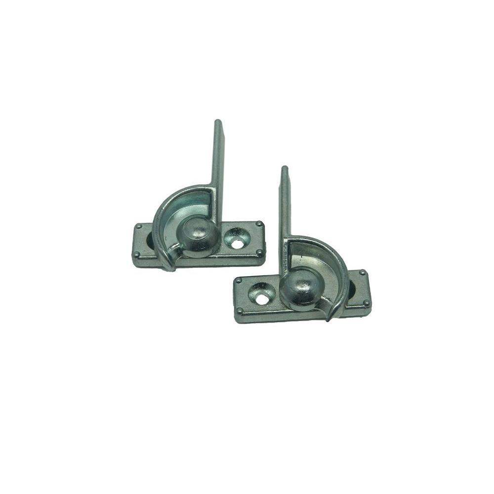Stanley 7/8 in. Aluminum Zinc Single Hung Window Sash Lock