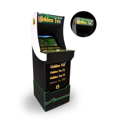 Golden Tee Arcade Cabinet with Riser