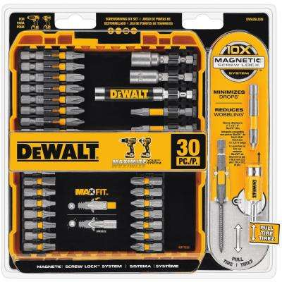 MAXFIT Driving Bit Set (30-Piece)