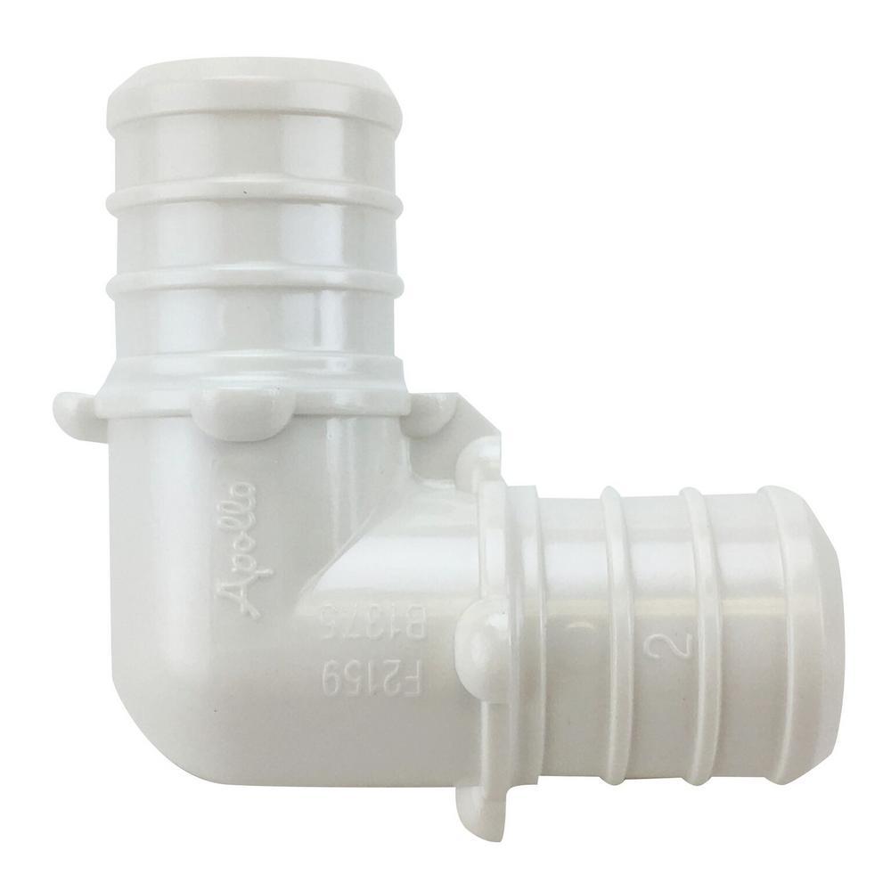 3/4 in. Plastic PEX Barb 90-Degree Elbow Jar (40-Pack)