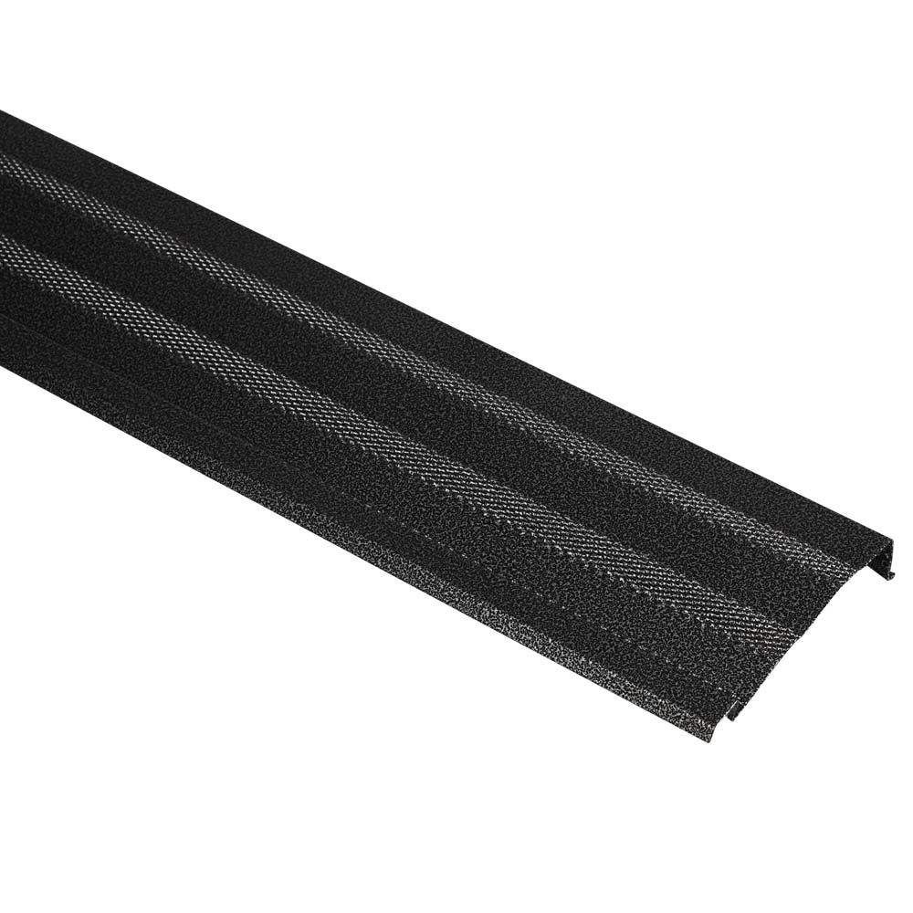 Amerimax Home Products 5 In X 3 Ft Black Diamond Gutter