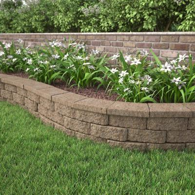 4 in. x 11.75 in. x 6.75 in. Buff Concrete Retaining Wall Block