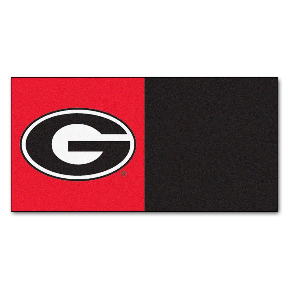 NCAA - University of Georgia Red and Black Nylon 18 in.