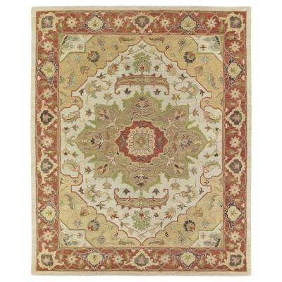 solomon micah gold 10 ft x 14 ft area rug