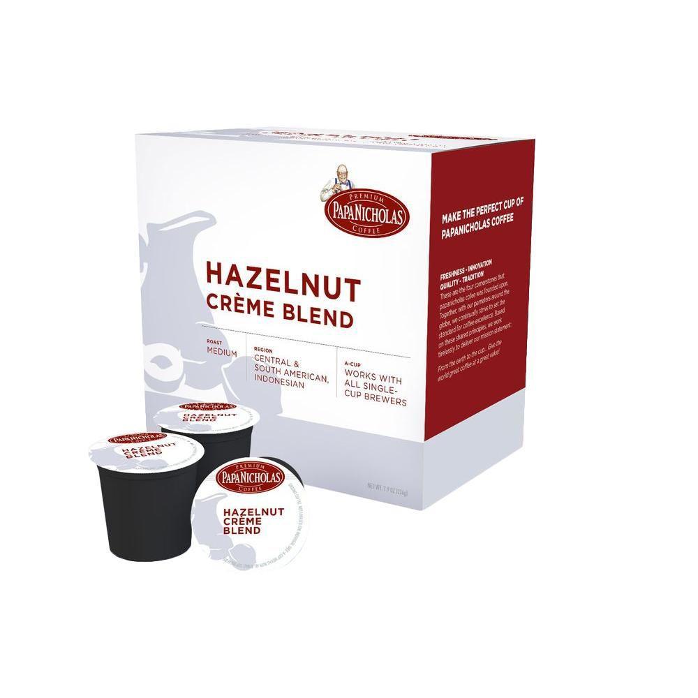PapaNicholas Hazelnut Creme Coffee (72-Cups per Case)