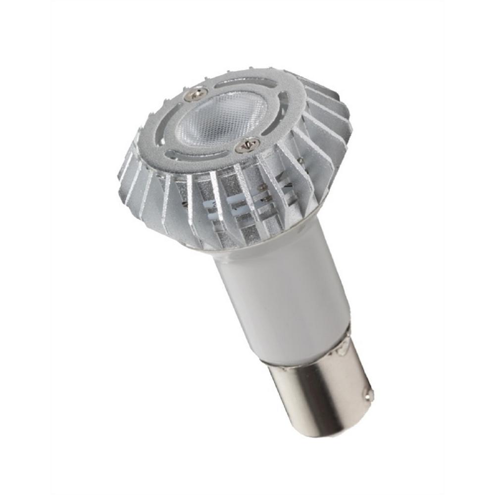 20-Watt Equivalent 3-Watt R12 Elevator LED BA15D Base Warm White Light Bulb 80701