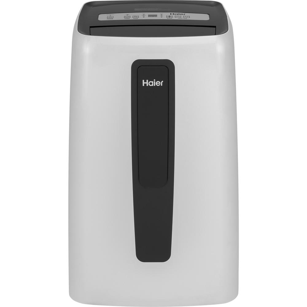 Haier 12000 BTU Portable Unit Air Conditioner with Dehumidifier on