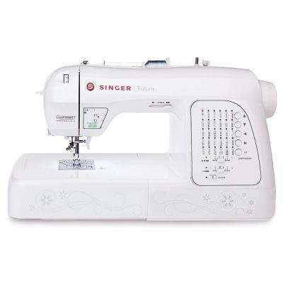 Futura 200 Built-in Embroidery Designs Embroidery and Sewing Machine with Vinyl Accessory Bag