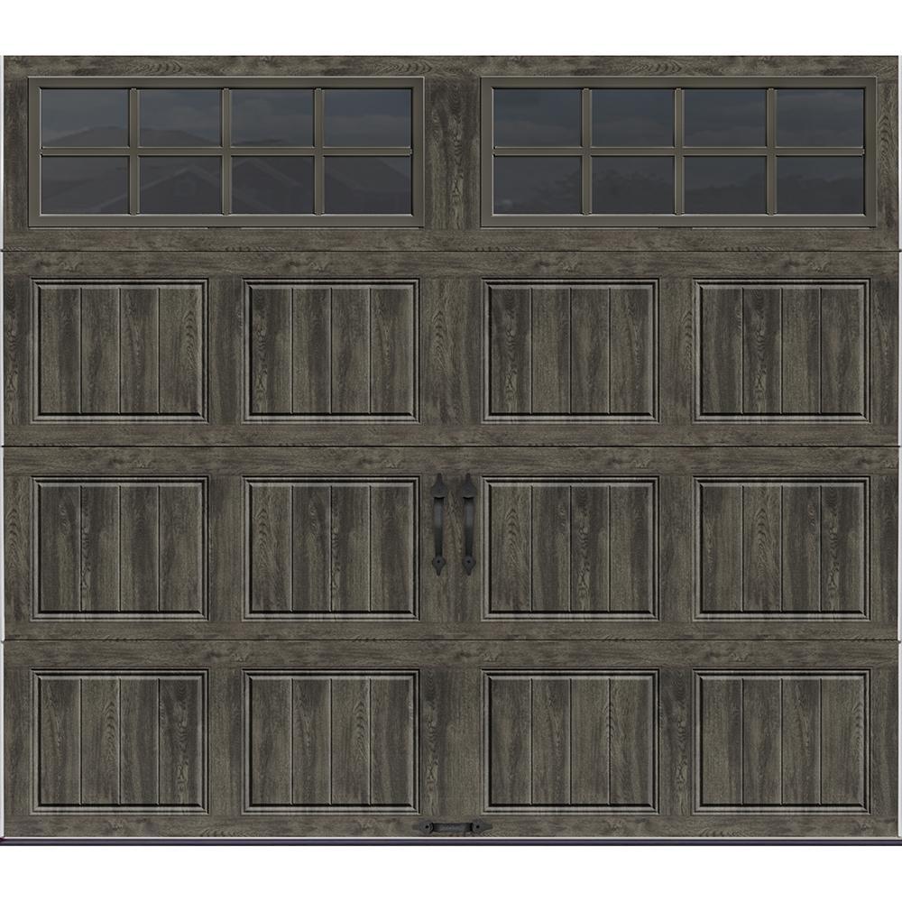 Double Door Garage Doors Doors Windows The Home Depot