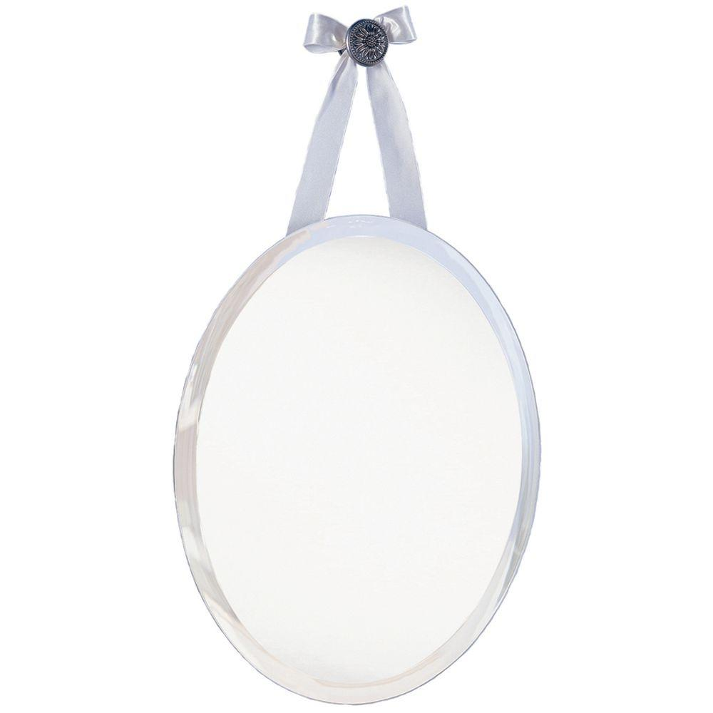 Glacier Bay 22 In X 18 In Oval Mirror 202400 The Home