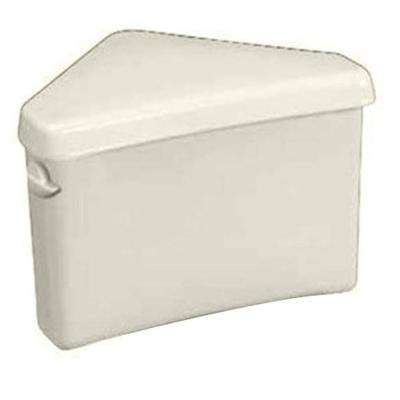 Triangle Cadet 3 1.6 GPF Single Flush Toilet Tank Only in Linen
