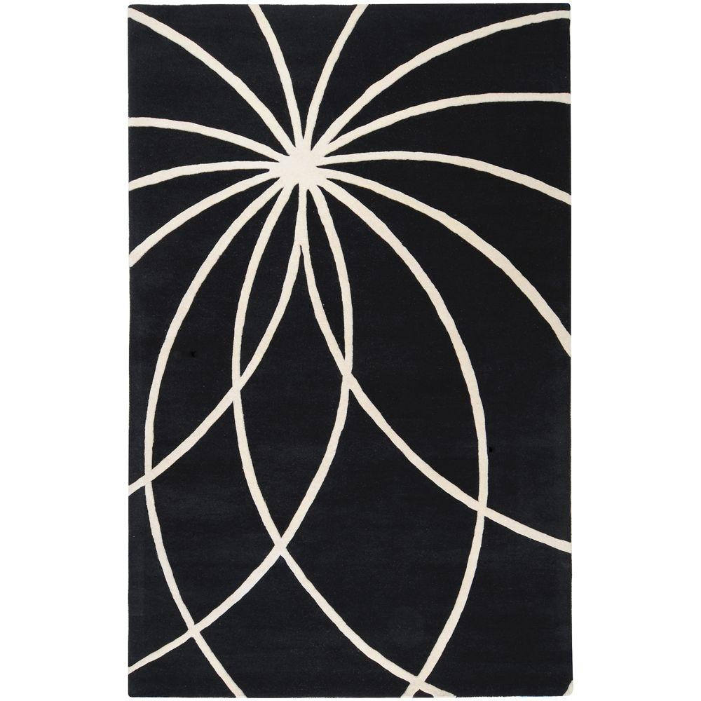 Artistic Weavers Michael Black 5 ft. x 8 ft. Area Rug