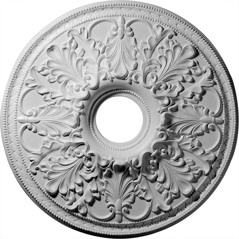Ekena Millwork 23-7/8 in. Ashley Ceiling Medallion