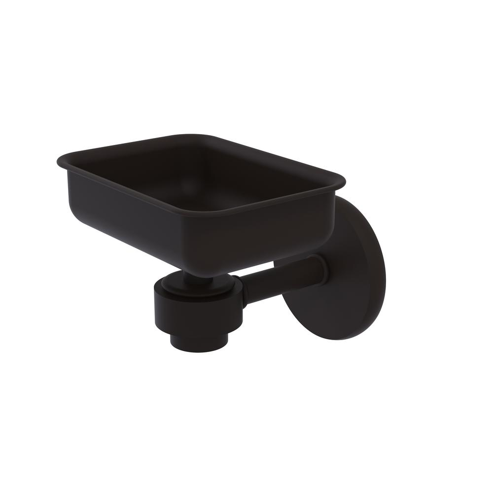 Satellite Orbit One Wall Mounted Soap Dish in Oil Rubbed Bronze