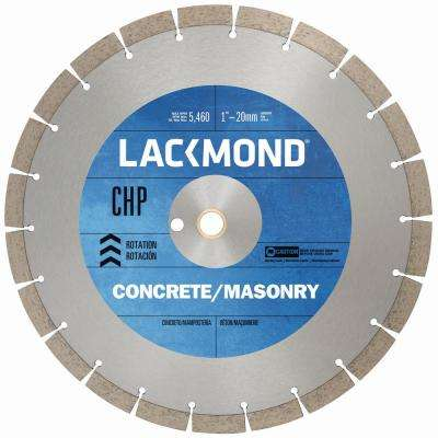 Chp Series Dry Cut Diamond Blade For Cured Concrete 16 In X 0 125 1 20 Mm